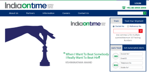 Indiaontime - Courier - Tracking